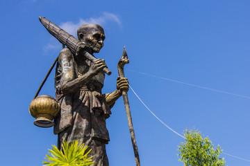 Luang Pu Thuat statue in wat Maetakrai