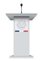 Pupitre République Française