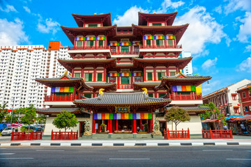 Buddhist temple in Singapore