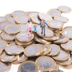 Euromünzen - Elterngeld