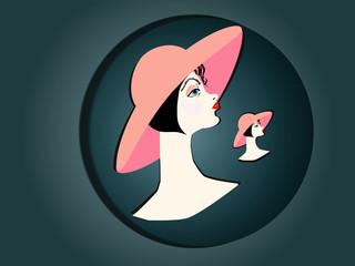 Девушка в hat.2