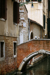 Ponti e canali a Venezia
