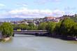 Baratashvili bridge named after the river Mtkvari. Georgia