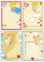 Valentine Card  Set