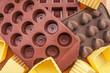 Stampi in silicone per cioccolatini