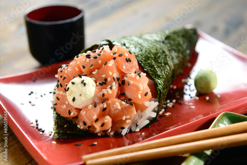 Japanese food - Temaki
