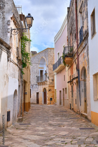 Alleyway. Tricase. Puglia. Italy. - 60659574