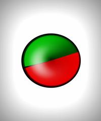 marchio verde e rosso