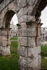 Pula - Arena arch, Croatia