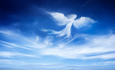angel in the sky