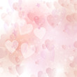 Valentine's day hearts background