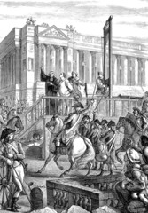 King Louis XVI execution