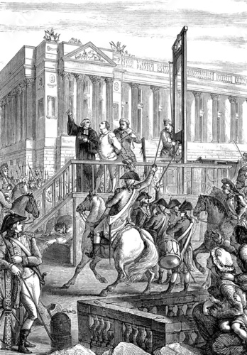 King Louis XVI execution - 60664186