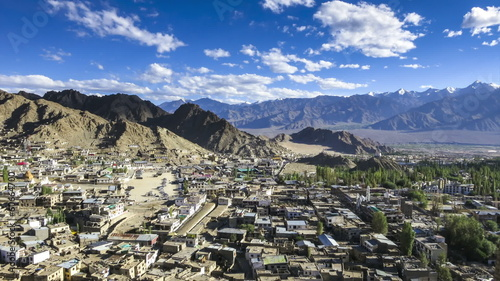 Leh city Ladakh time lapse