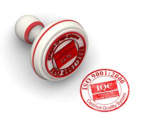 ISO 9001:2000. Печать и оттиск