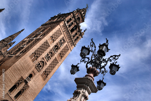 Famous Cathedral of Sevilla in Andalucia/ SPAIN