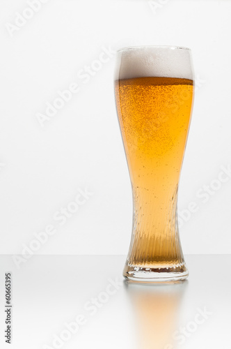 beer on white