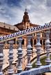 The Plaza de Espania / Seville /Spain
