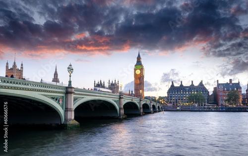 Zdjęcia na płótnie, fototapety, obrazy : London at Dusk