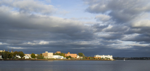 Charlottetown on a cloudy day