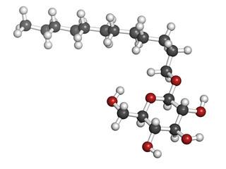 Lauryl glucoside (dodecyl glucoside) non-ionic surfactant.