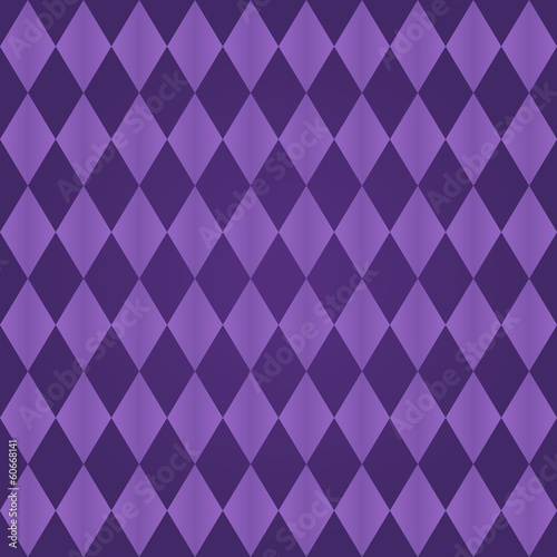 Seamless harlequin pattern-purple