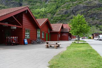 Area in Flam, Norway