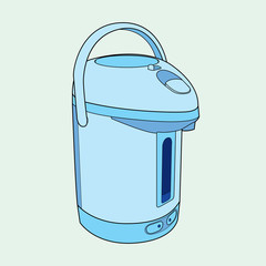 Thermo Pot  vector