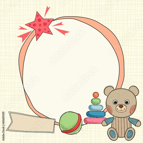Teddy Bear Frame