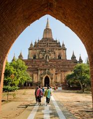 Sulamani temple in Bagan, Myanmar