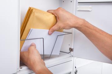 Postman Keeping Letters