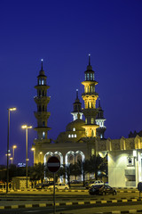 Beautiful Mosque in kuwait