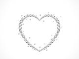 Fototapety Diamond heart