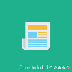 News - FLAT UI ICON COLLECTION