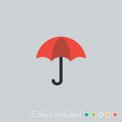 Umbrella - FLAT UI ICON COLLECTION