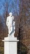 Hercules garden statue in Schonbrunn palace, Vienna, Austria