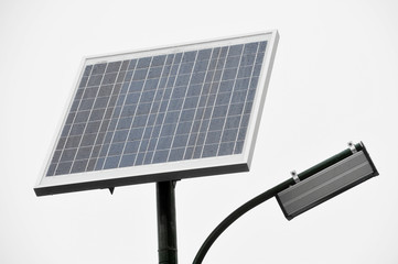 Photovoltaic public lighting
