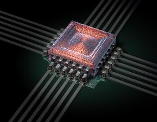 Chip Prozessor Brain