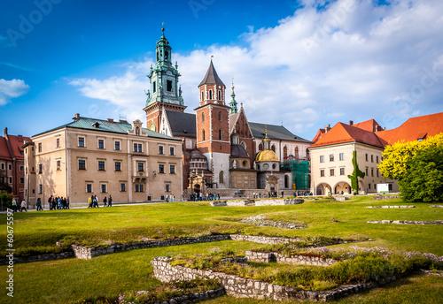 Zdjęcia na płótnie, fototapety na wymiar, obrazy na ścianę : Wawel Kraków