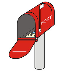 mailbox vector drawing