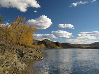 Selenge river, Mongolia
