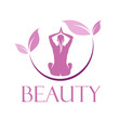 Vector Logo spa, yoga and relax