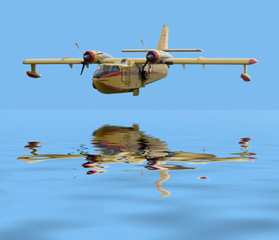 yellow waterplane