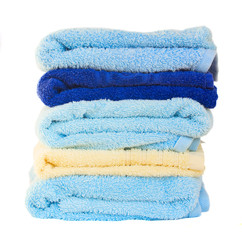 stack  of washed towel