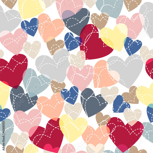 many colored hearts 2