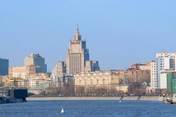 View on Savvinskaya embankment