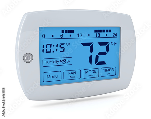 digital thermostat - 60681113