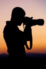 Il Fotografo - silhouette
