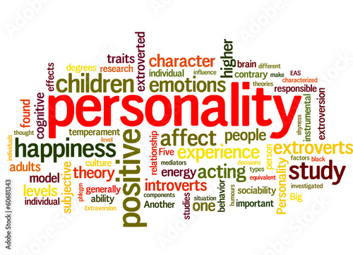 personality (test, candidate, person, character)