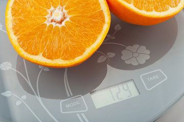 orange on the scale.